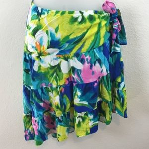 Jam's World Provence Skirt Size Small Tropical